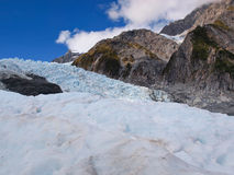 Glacier Mountain view in the Southern Alps Royalty Free Stock Photo