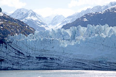 Glacier with mountains Stock Photos