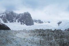 Glacier with mountains. Argentina. Perito Moreno. Royalty Free Stock Images