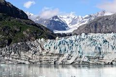 Glacier. And mountains of  Bay National Park, Alaska Stock Photos