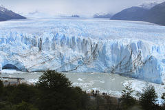 Glacier with mountains and lake. Argentina. Perito Moreno. Royalty Free Stock Photos