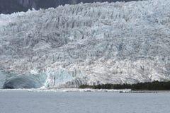 Glacier with mountains and lake. Argentina. Perito Moreno. Royalty Free Stock Photo