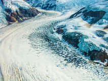 Mountain Glacier, Wrangell -St. Elias, Alaska  Royalty Free Stock Images