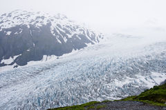 Glacier movement Stock Images