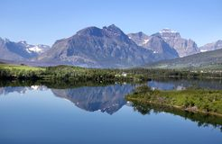 Glacier national park Stock Photography