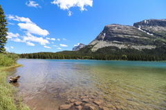 Glacier National Park Fotografie Stock