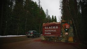 Glacier National Park stock footage