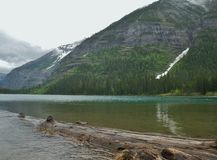 Glacier National Park, Avalanche Gulch Lake stock photos