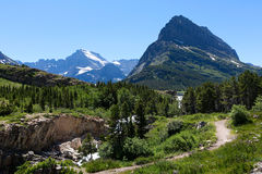 Glacier national park Royalty Free Stock Photography