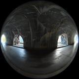 Glacier National Park del tunnel della finestra Immagini Stock Libere da Diritti