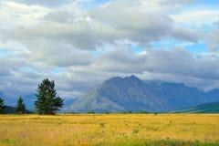 Glacier National Park di estate Fotografia Stock