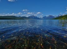 Glacier National Park, Lake McDonald Mount Cannon royalty free stock photo