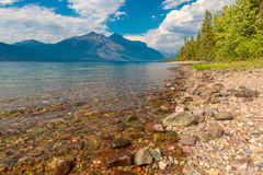 Glacier National Park Lake McDonald Royalty Free Stock Images