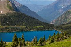 Glacier National Park,Montana Royalty Free Stock Photo