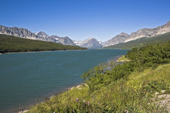 Glacier National Park in Montana. Stock Photo