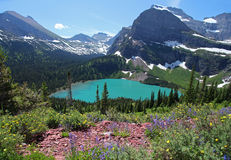 Glacier National Park in Montana Stock Photo