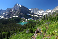 Glacier National Park in Montana Stock Image