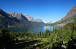 Glacier National Park in Montana Royalty Free Stock Images