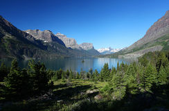Glacier National Park in Montana Royalty Free Stock Image
