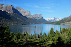 Glacier National Park in Montana Royalty Free Stock Photos