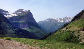 Glacier National Park in Montana, USA Royalty Free Stock Image