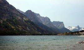 Glacier National Park nel Montana, U.S.A. Fotografie Stock Libere da Diritti