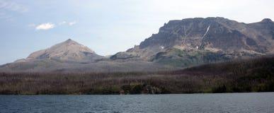 Glacier National Park nel Montana, U.S.A. Fotografia Stock