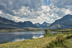 Glacier National Park - St. Mary Lake Stock Photography