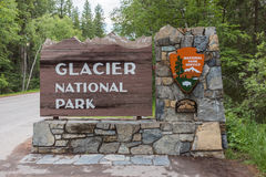 Glacier National Park West Entrance Royalty Free Stock Photo