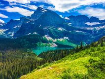 Glacier Nationalpark Stockbild
