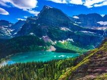Glacier Nationalpark Lizenzfreies Stockbild