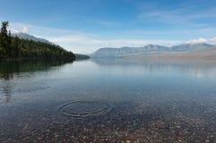 Glacier Nationalpark, Gehen-zu-d-Sonne-Straße, Montana, USA Lizenzfreies Stockbild