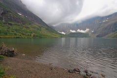 Glacier Nationalpark in Montana Stockbild