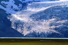Near Hvitarnes hut, Iceland stock images
