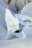 Glacier near Mont Blanc Stock Images