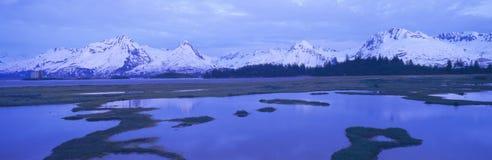 Glacier near TransAlaska Stock Photography