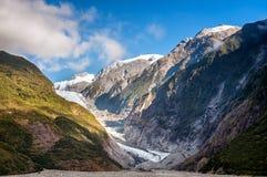 Glacier of New Zealand Royalty Free Stock Photos