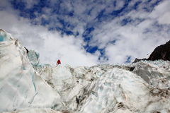 Glacier in Newzealand Stock Image