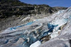 Glacier Nigardsbreen Stock Photo
