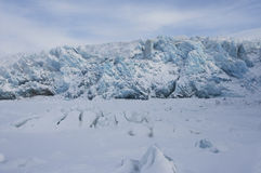 The glacier Royalty Free Stock Image
