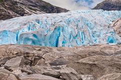 Glacier in Norway Stock Images