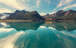 Glacier in Norway Royalty Free Stock Photography