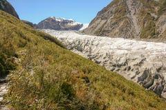 Glacier Nouvelle Zélande de Fox Image stock