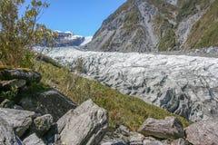 Glacier Nouvelle Zélande de Fox Photos libres de droits