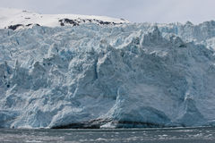 Glacier and ocean Royalty Free Stock Photo
