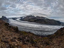 Glacier. One of the icelandic glaciers near NP Skaftafel Stock Images