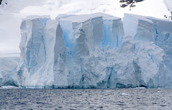 Glacier in Paradise Bay Stock Photo
