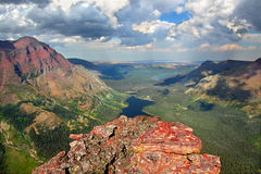 Glacier Park Alpine Scenery Stock Images