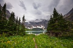 Glacier Park. Glacier National Park, Montana Stock Photo