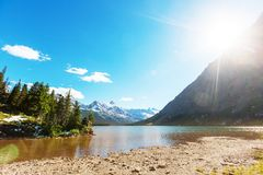 Glacier Park royalty free stock photos
